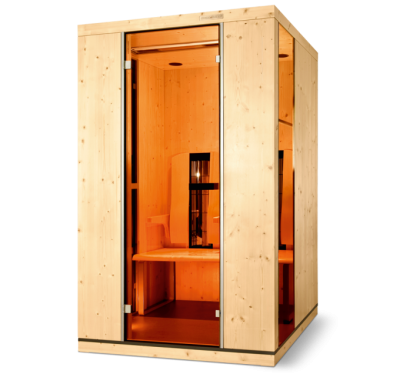 Infrared sauna from Pools and Spas Windlesham