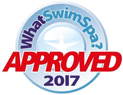 What Swim Spa approved logo 2017